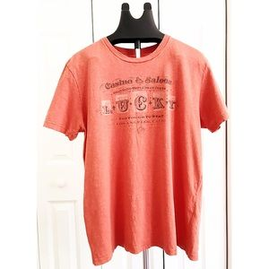 """LUCKY BRAND Men's """"TOO THOUGH TO BEAT"""" S/S T-Shirt"""